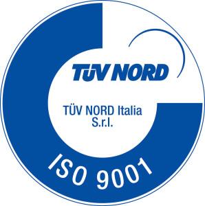 ISO 9001 logo TUV nord italia